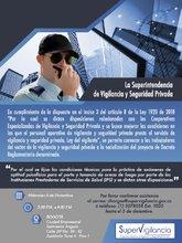 Invitación a los trabajadores del sector de viglancia y seguridad privada de Bogotá a conocer el Proyecto de Decreto Reglamentario sobre Exámenes Psicofísicos