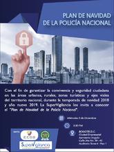 Socialización del Plan de Navidad de la Policía Nacional