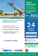 Feria Nacional de Servicio al Ciudadano - Valledupar