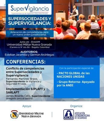 Conflicto de competencias entre Supersociedades y Supervigilancia