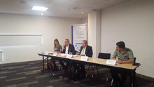 Conversatorio sobre Vigilancia y Seguridad Privada en Congreso NEXOS 2018