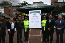 Firma del compromiso alianza público-privada por la seguridad en Bogotá