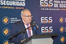 Superintendente felicita a la organización de la Feria Internacional de Seguridad