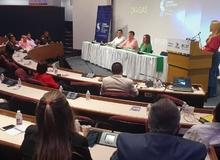 Superintendente Clavijo y Delegados de la Entidad ponentes en conversatorio de seguridad en Cali